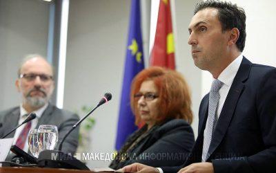 Министерот Адеми на Меѓународна конференција за Курбиново