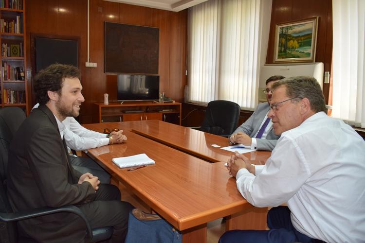 Ministri Ismaili realizoi takim me Le Gal nga Qendra Ndërkombëtare e Industrive Kreative